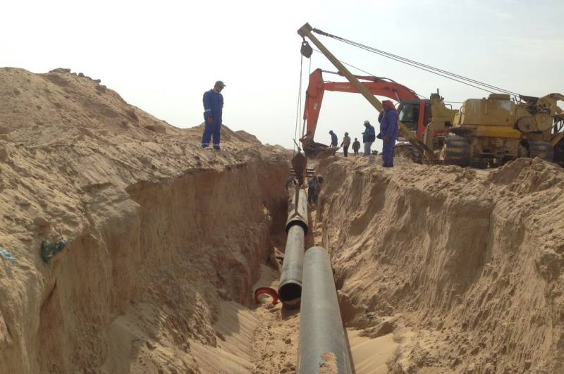 Piping Works – MB Iraq